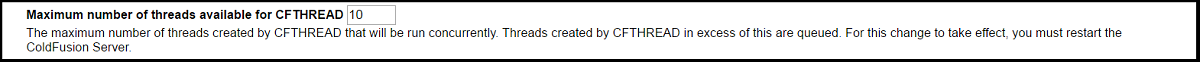 CFThread threads