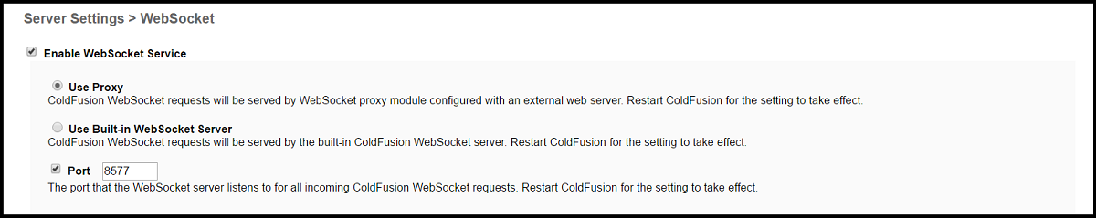 ColdFusion WebSocket Proxy