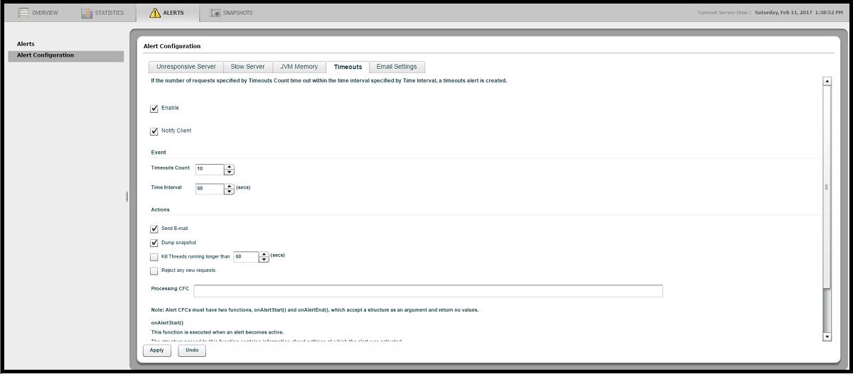 ColdFusion Server Monitor