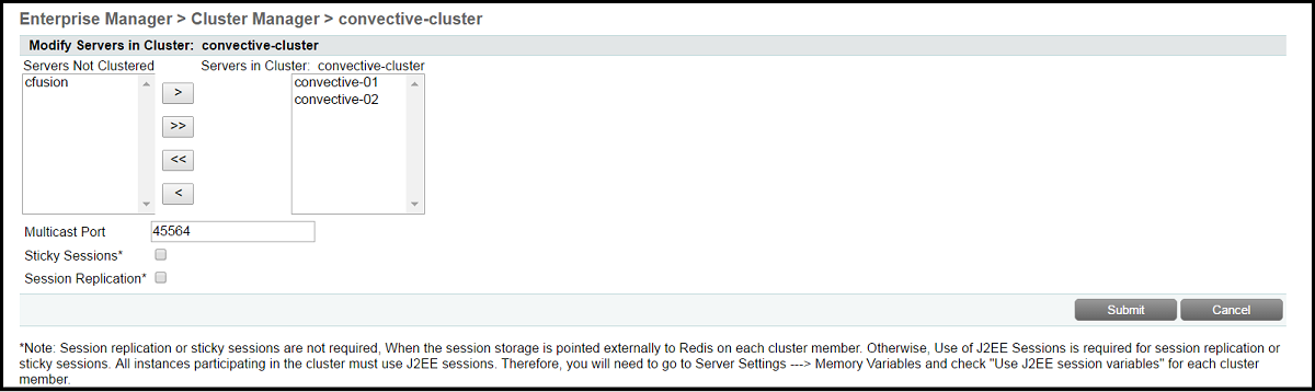 ColdFusion Clustering